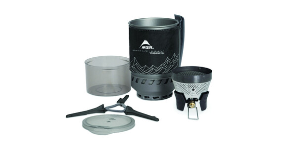 MSR WindBurner Stove System 1.8 L Black